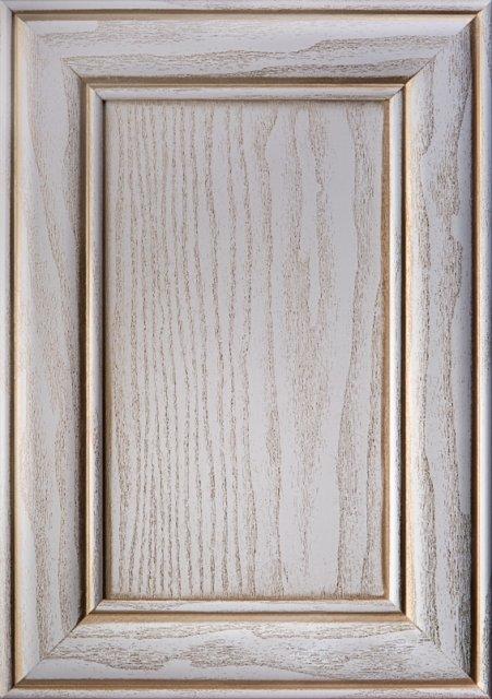 Білий текстурований Патина матова золота Image