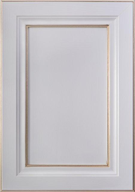 Білий текстурований Патина лінійна матова золота Image