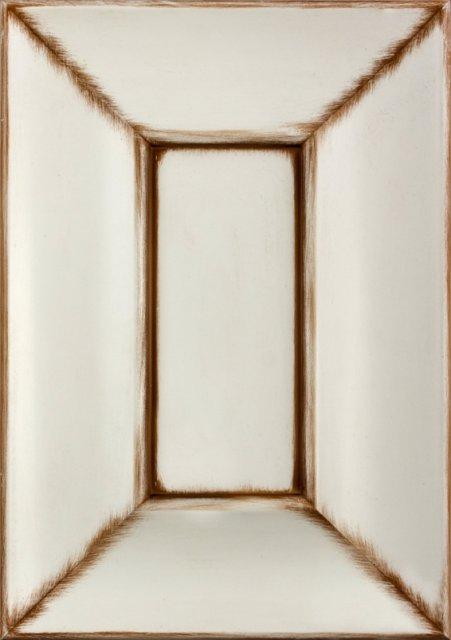 Білий шовк з коричневим Image